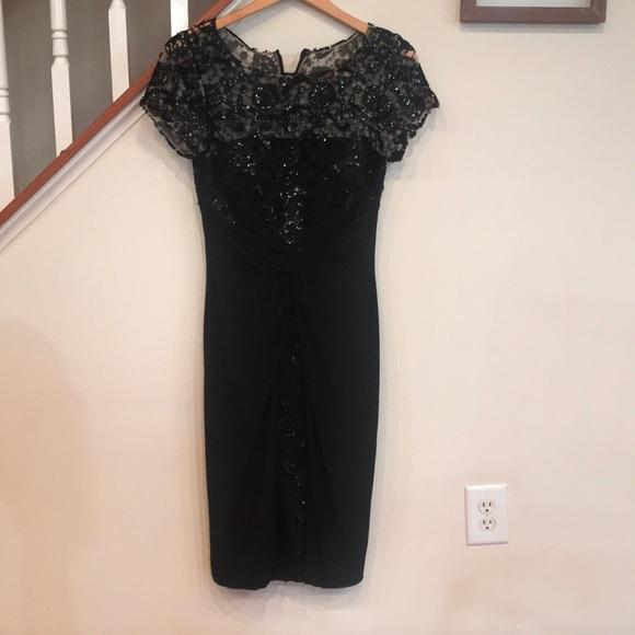 David Meister Dresses & Skirts - David Meister cocktail dress embellished lace